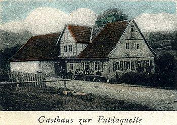 Der Genussgasthof fuldaquelle 1866