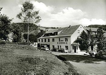 Der Genussgasthof fuldaquelle 1951